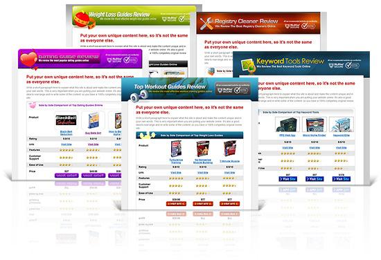 10 premium affiliate review website templates. Black Bedroom Furniture Sets. Home Design Ideas