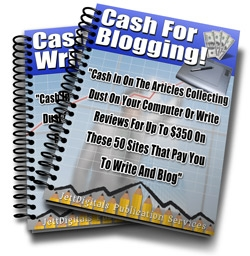 Writing and Blogging For Cash!