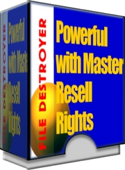 File Destroyer with Master resell rights