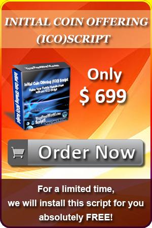 Best Initial Coin Offering Script ( ICO Script )