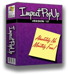 Impact Popup Tool with Resell Rights